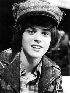 Donny Osmond....I had such a huge crush on him when I was about 12ish.....puppy love!