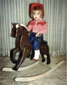 3127-Ξύλινο κουνιστό άλογο σχέδια
