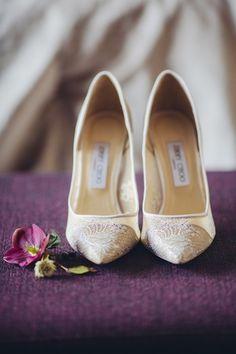 Элегантные туфли невесты - обязательный пункт для прекрасного опыта #туфли #обувь #невеста #образ