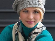 Although the original design by Ann McCauley calls for Cascade Venezia yarn, we are suggesting Cascade Pima or another cotton yarn if you are making this hat for our chemo cap project.