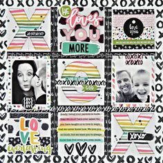 Bella Blvd IF You Are Loved collection. Love You layout by creative team member Stephanie Buice.