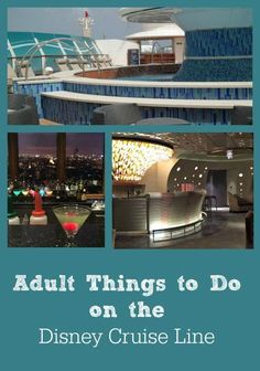 Adult Things to Do on the Disney Cruise Line