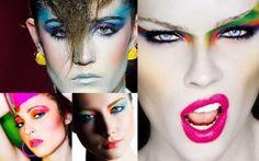 Maquiagem estilo anos 80