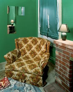 Sleeping by the Mississippi « Alec Soth Sugar's, Davenport, Iowa, 2002.