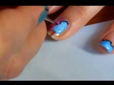 Cotton Candy Nail Art Tutorial Cotton Candy Nails, Love Nails, Manicure, Nail Designs, Nail Polish, Nail Art, Gallery, Nail Bar, Nails