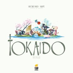 8. Tokaido | The 10 Greatest Board Games You Haven't Played This Year--this one looks a little young, but the board is beautiful.