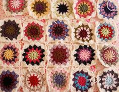 Crochet Blanket - Love the colours!