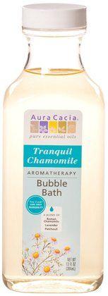 Aura Cacia Bubble Bath Relaxing Chamomile, 13oz