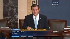"""Cruz does not like Obamacare He doesn't like to care or share He doesn't want to help the poor He wants the rich to just have more He likes to bully folks around His own voice is his favorite sound If Dr. Seuss had met Ted Cruz He'd tell him, """"Ted, I hope you lose.""""  Senator Ted Cruz has egg on his face. Green egg.  On Tuesday, during his 21-hour marathon filibuster against Obamacare, he read aloud to his daughters back home the Dr. Seuss book """"Green Eggs and Ham."""" But he clearly missed its…"""