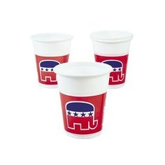 Republican Disposable Cups