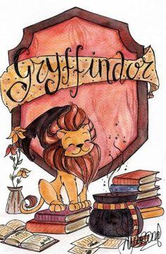 Gryffindor, the best house of Hogwarts Harry Potter World, Memes Do Harry Potter, Images Harry Potter, Arte Do Harry Potter, Harry Potter Drawings, Yer A Wizard Harry, Harry Potter Love, Harry Potter Universal, Harry Potter Cartoon