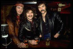 Ian Gillan, Geezer Butler and Tony Iommi