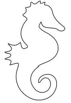 Seahorse Template - Animal Templates | Free & Premium Templates