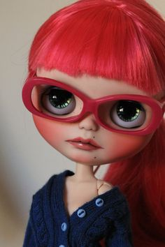 Reserve Custom Blythe Doll Nastasia by GerakinaDolls on Etsy