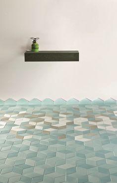 Wand- und Bodenbelag aus Feinsteinzeug für Innen TEX BLUE Kollektion TEX by MUTINA | Design Raw Edges