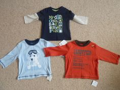 Boys 3-6 months, Autumn. Brands: Baby Gap, Disney, George, Mothercare and more.
