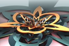What's the dIFS - Lifted by Sabine62 Watch Digital Art / Fractal Art / Raw Fractals©2015-2016 Sabine62