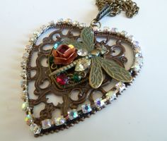 Spring all year long Pendant by ArtBoxDesign on Etsy, $20.00