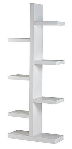 Contemporary, modern Furniture : Media Storage + Bookcases, Brosna Bookcase - White from Urban Barn to complement your style. Bookcase Storage, Media Storage, Storage Cabinets, Bookcase White, Modern Bookcase, Shelving Units, Classic Dinnerware, Dinnerware Sets, Office Bookshelves