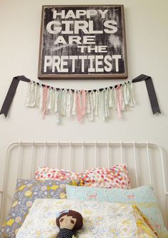 @Bethany DeWood i need something like this picture for her big girl room! happiness in a picture.