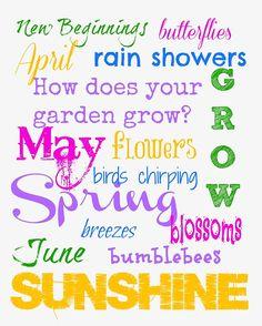 Spring Subway Art 8x10