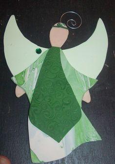 Polymer Clay Angel Ornament