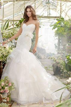 45 Stylish Trumpet Wedding Dresses Tara Keely -- Alysha – The Knot