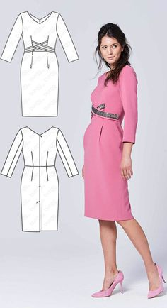 Dress Burda Sep 2017 #116B