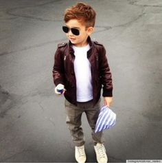 Be blessed enough to have a grandchild so I can buy him these clothes! Too cute!