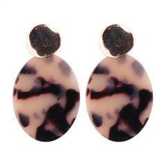 Vedawas 2017 New Arrival Drop Earrings For Woman Trend Designer Big Resin Dangle Earrings Jewelry Gifts Trendy Fashion Jewelry, Sport Wear, Women's Earrings, Jewelry Gifts, Dangles, Purses, Clothes For Women, How To Wear, Accessories