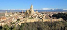 Panorámica de Segovia - Sierra del Guadarrama