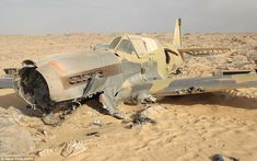 In 1942, 24 year old Denis Copping crash landed in the Saharan Desert in a damaged P-40 fighter aircraft. Lost for 70 years, the wreck, in remarkable condition, was discovered last month.