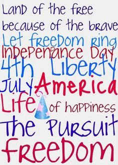 4th of July free subway art frame it for giving print frame and give