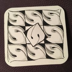 Zentangle Patterns, Zentangles, Zentangle For Beginners, Looks Cool, Tangled, Grid, Tile, Seeds, Doodles