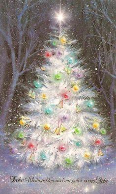 Old Christmas Lights Vintage Christmas Images, Old Fashioned Christmas, Christmas Scenes, Christmas Past, Retro Christmas, Christmas Pictures, Christmas Greetings, Winter Christmas, Christmas Lights