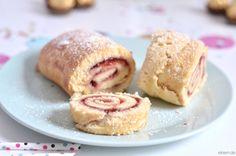 [ekiem]: Silvester Sweet Table - super schnelle Erdbeer Rolle