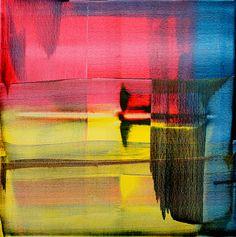 David Muddyman - The Sound of the Tamar (Acrylic on Canvas 76.2cm x 76.2cm)