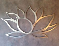 Lotus Flower Metal Wall Art - Etsy, $50