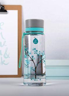 Zdravá fľaša Equa Mint Blossom 600ml