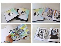Catálogo y libro de identidad corporativo para la marca Ala Lluna Creativa