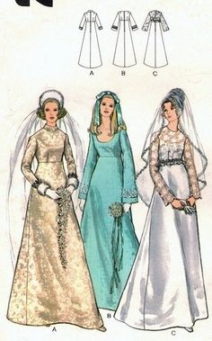Old Wedding Dresses