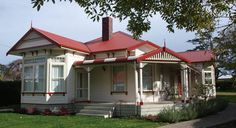 newbuild replicas of the NZ villa....my heart swoons!