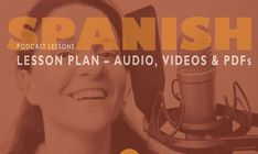 See all the lessons in Maria Fernandez's Spanish Audio Lesson bundle. Free Spanish Lessons, Spanish Courses, Spanish Language, Audio, How To Plan, Books, Libros, Book, Book Illustrations