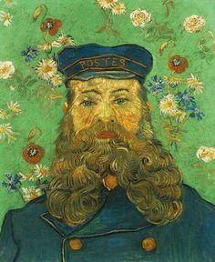 Vincent van Gogh Painting, Oil on Canvas Arles: April, 1888 Kröller-Müller Museum Otterlo, The Netherlands, Europe F: JH: 1673 Van Gogh: Portrait of the Postman Joseph Roulin Art Van, Van Gogh Art, Vincent Van Gogh, Fleurs Van Gogh, Van Gogh Pinturas, Van Gogh Portraits, Portrait Paintings, Van Gogh Paintings, Paul Gauguin