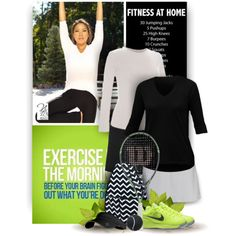 Apparel for your Tennis and Fitness - Nicole's Tennis Boutique by christiana40 on Polyvore featuring Mode, Jofit and NIKE