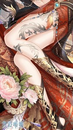 Image about girl in art/anime by Kris Oberlin🌙 Fantasy Art Women, Beautiful Fantasy Art, Fantasy Girl, Fantasy Character Design, Character Inspiration, Character Art, Anime Art Girl, Manga Girl, Anime Girls