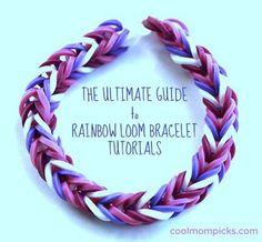 Rainbow Loom bracelet patterns: The ultimate guide