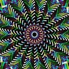 - Shit Listen to Trippin - Insainment. - Shit Insainment MindSpaceApocalypse trippy psychedelic doors of perception Optical Illusion Gif, Cool Optical Illusions, Art Optical, Illusion Art, Fractal Design, Fractal Art, Trippy Gif, Hippie Art, Animation