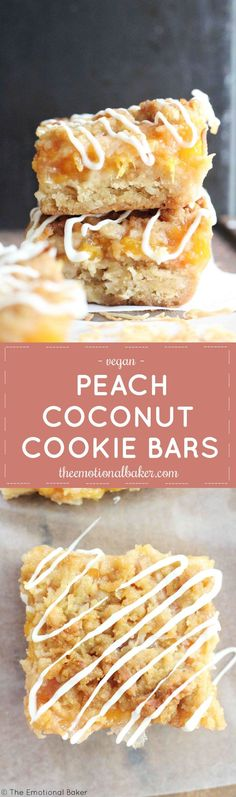 Peach Coconut Cookie