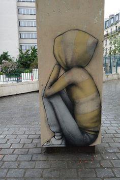 """Artist : Seth GlobePainter """" Maison de la Plage """" Paris 18"""